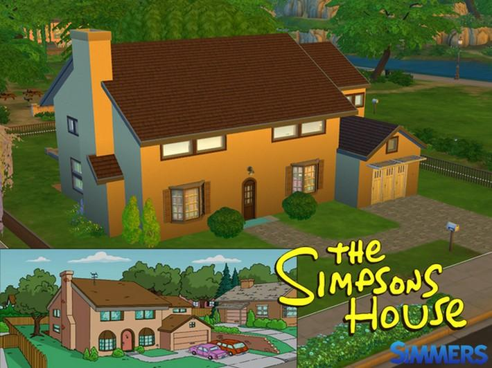 #LOTE - The Simpsons House