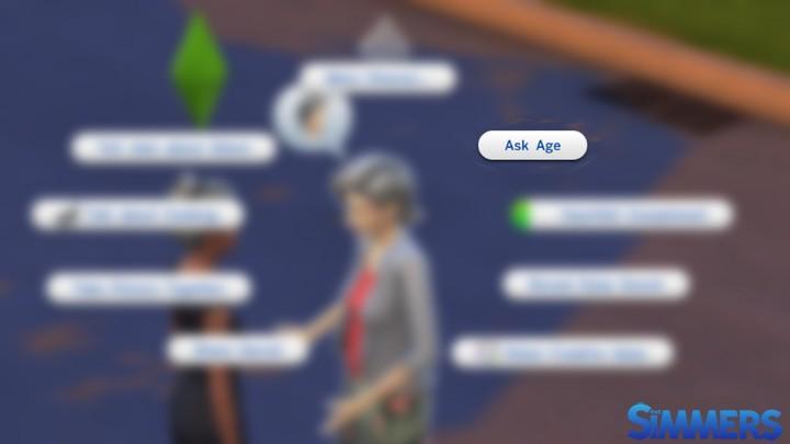 #MOD - Pergunte a idade de um Sim