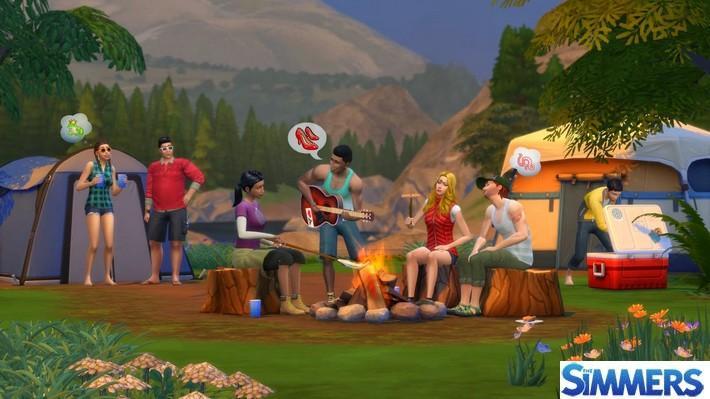 #Notícias - Tudo Sobre The Sims 4: Retiro Ao Ar Livre