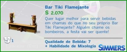 Bar Tiki Flamejante