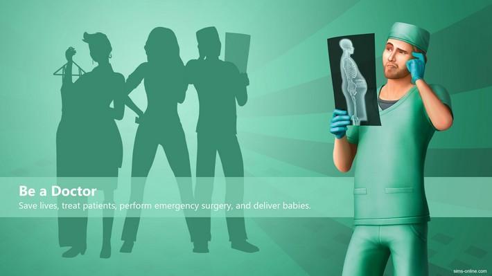 The Sims 4 ao Trabalho - Novidades sobre a Carreira Médica