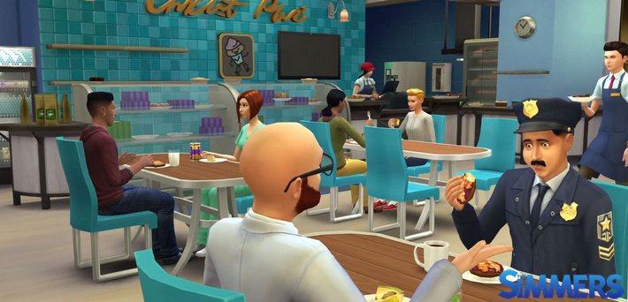The Sims 4 ao Trabalho