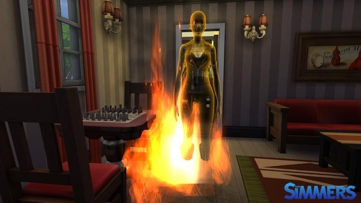 the sims fogo