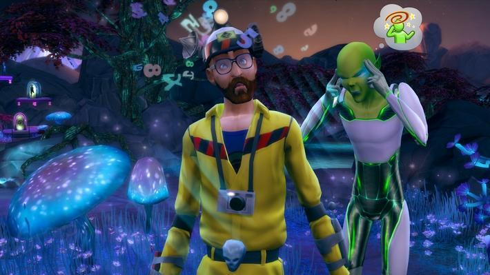 Cientista - The Sims 4 ao Trabalho