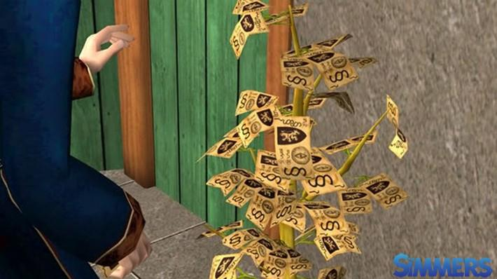 the-sims-curiosidade-arvore-dinheiro