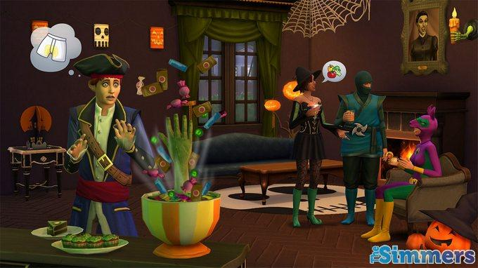 the sims 4 assombroso