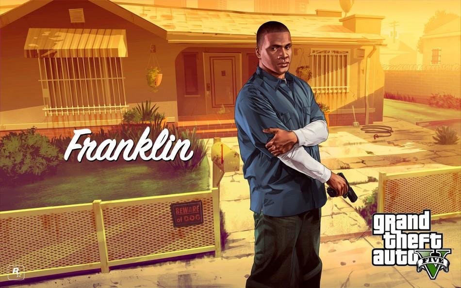 Franklin Clinton - gta v - Como se tornar um homem melhor jogando GTA V