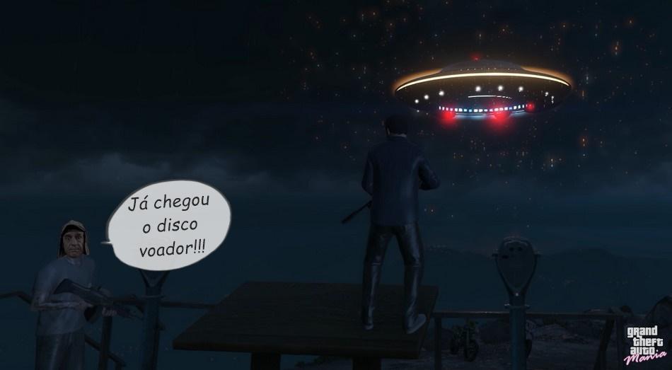 ja chegou o disco voador gta 5