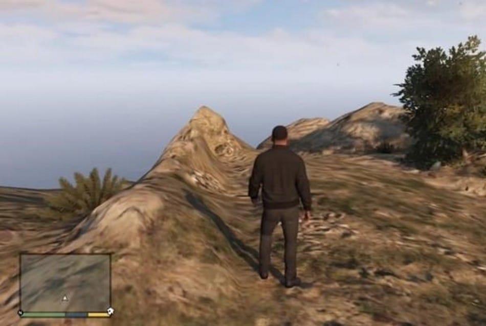 Como encontrar a fantasma da montanha em GTA V