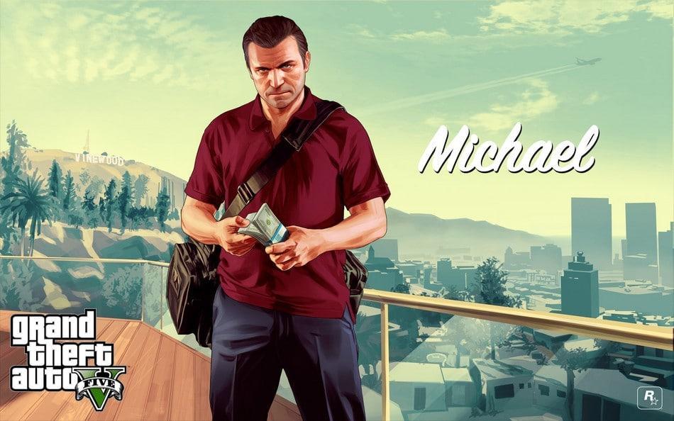 Michael de Santa - gta v - Como se tornar um homem melhor jogando GTA V