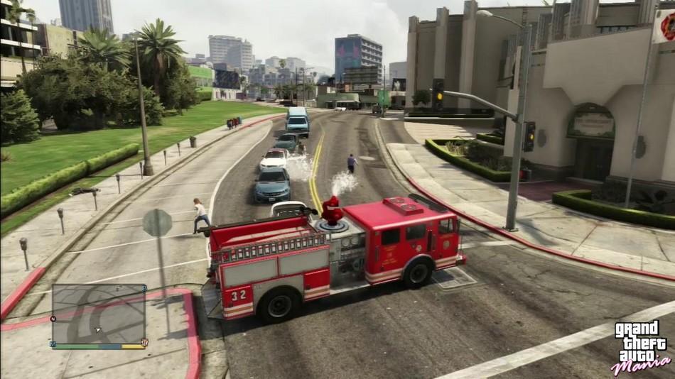 Caminhão de bombeiro (Fire Truck)