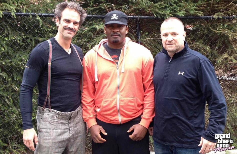Conheçam o Trevor, Franklin e Michael na vida real