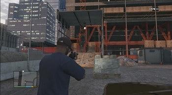 o assassinato na construção