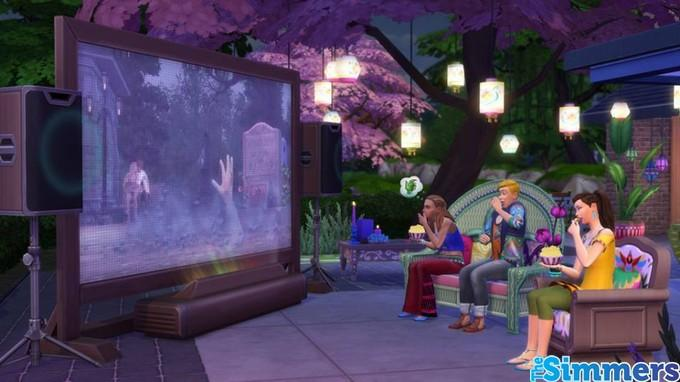 The Sims 4 Noite de Cinema