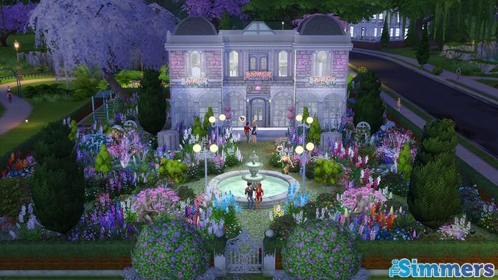 9 Lotes Incríveis do The Sims 4 Jardim Romântico Coleção de Objetos (1)