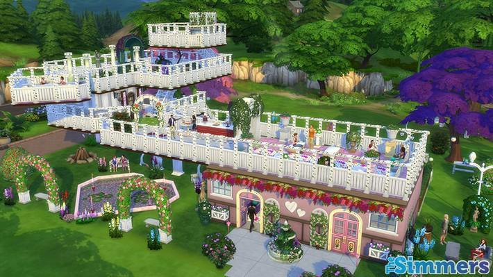 9 Lotes Incríveis do The Sims 4 Jardim Romântico Coleção de Objetos (2)