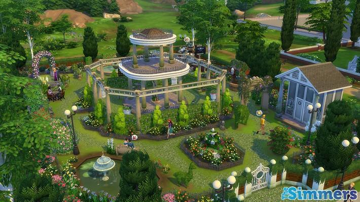 9 Lotes Incríveis do The Sims 4 Jardim Romântico Coleção de Objetos (3)
