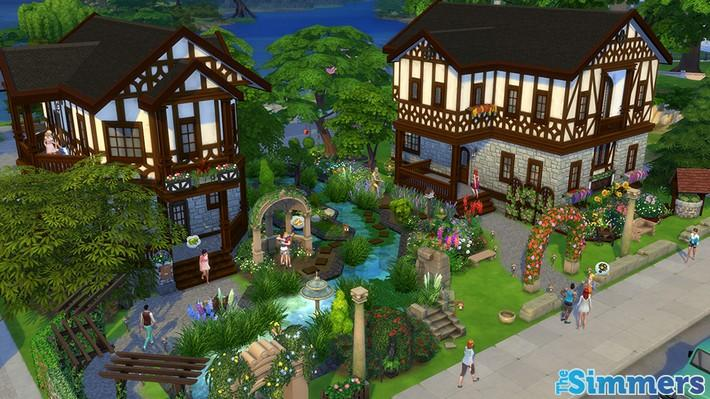 9 Lotes Incríveis do The Sims 4 Jardim Romântico Coleção de Objetos (5)