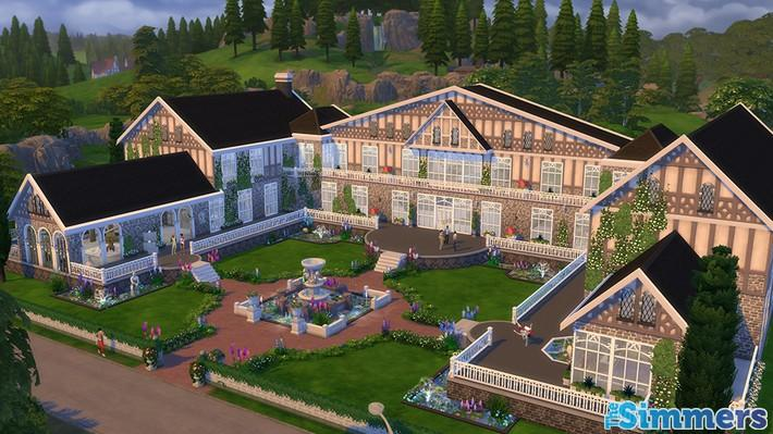 9 Lotes Incríveis do The Sims 4 Jardim Romântico Coleção de Objetos (6)