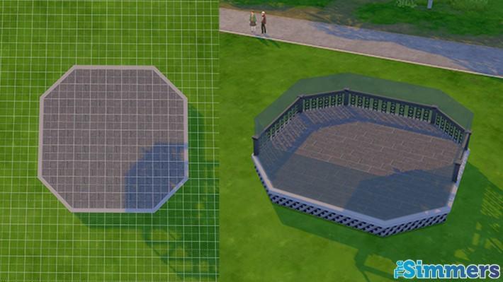 Como criar um terraço incrível no The Sims 4 (1)