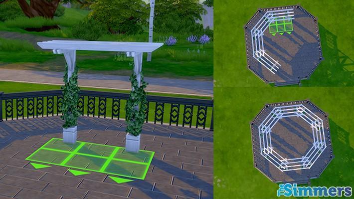 Como criar um terraço incrível no The Sims 4 (2)