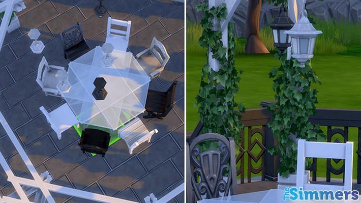 Como criar um terraço incrível no The Sims 4 (5)