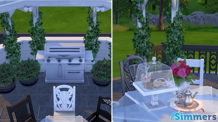 Como criar um terraço incrível no The Sims 4 (6)