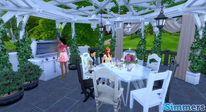 Como criar um terraço incrível no The Sims 4 (8)