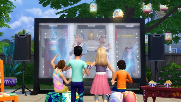 Os 10 filmes de The Sims 4 Noite de Cinema