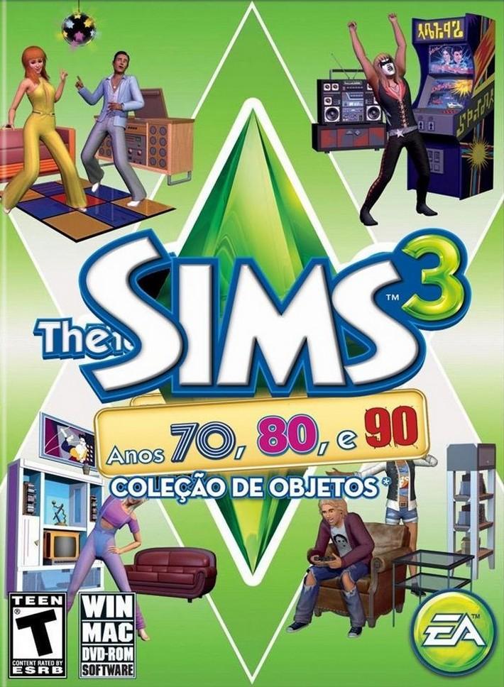 the sims 3 anos 70, 80 e 90
