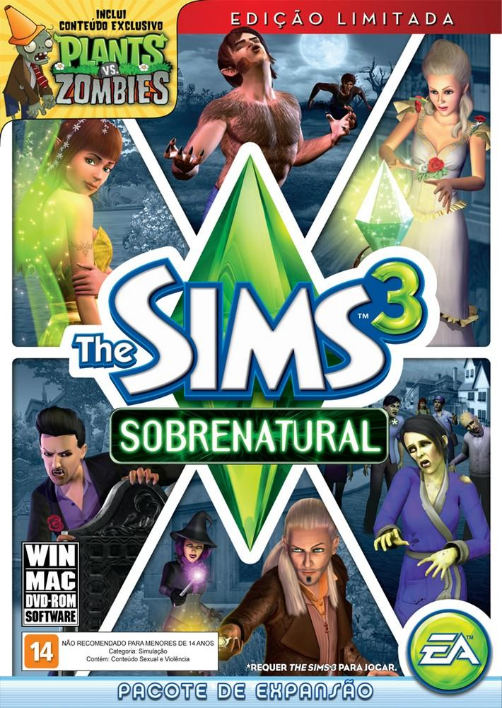 the sims 3 sobrenatural