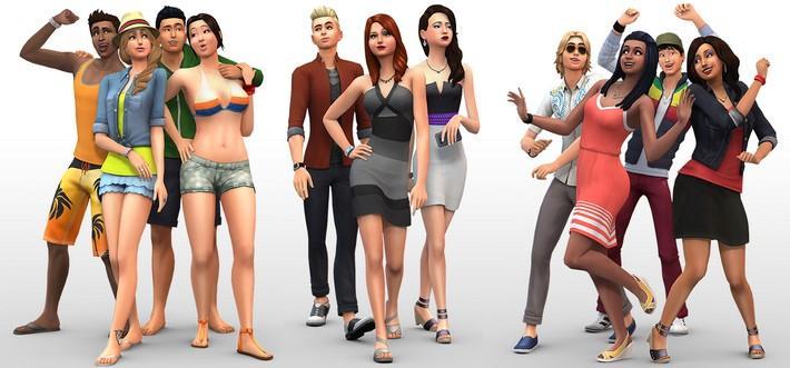 Criando um Sim - The Sims 4