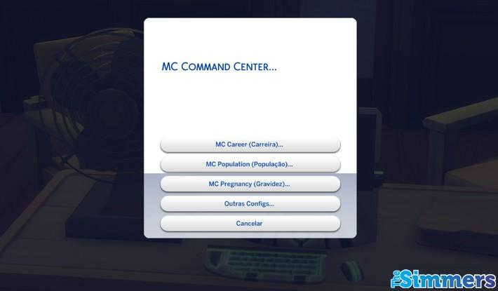 Mc command center - controle total the sims 4