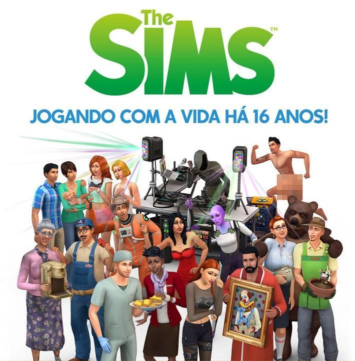 #Notícia - Infográfico de aniversário The Sims 16 anos