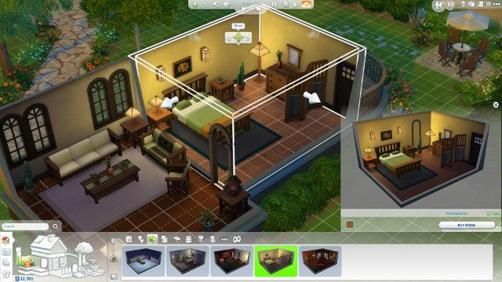 Novo modo de construção em The Sims 4 2