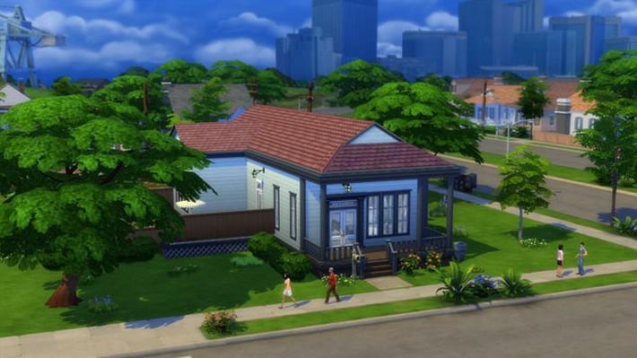 Novo modo de construção em The Sims 4