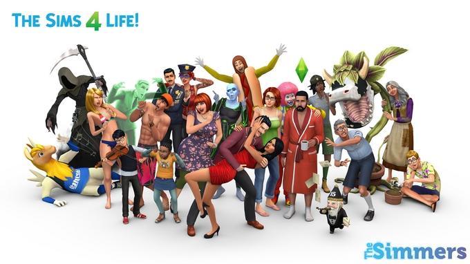the sims 4 comemorar