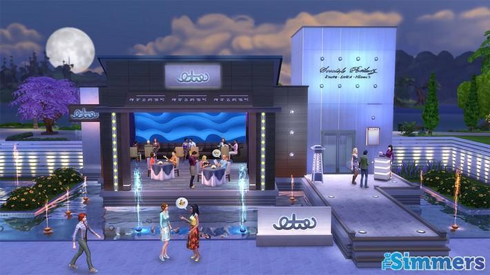 formas de personalizar restaurante the sims 4 escapada gourmet (1)