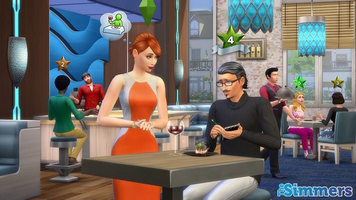 formas de personalizar restaurante the sims 4 escapada gourmet (4)