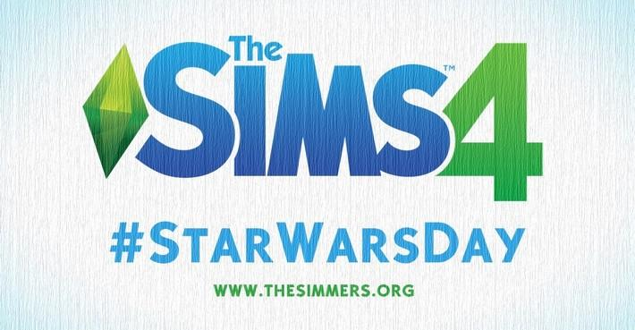the sims 4 star wars day