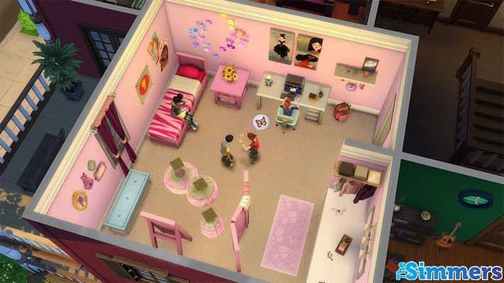 5 dicas para criar cômodos incríveis no The Sims 4 Quarto das Crianças 2