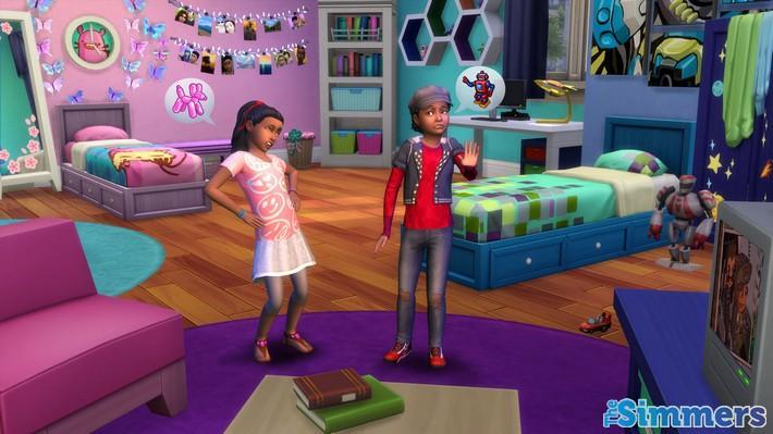 Confira o The Sims 4 Quarto das Crianças Coleção de Objetos!