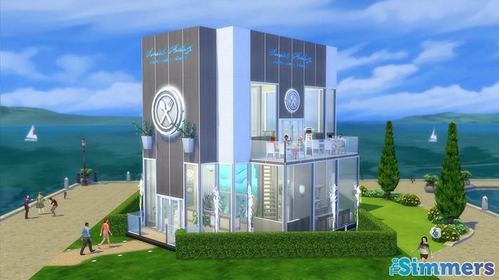Restaurantes deliciosos feitos pelos jogadores do The Sims 4 (1)
