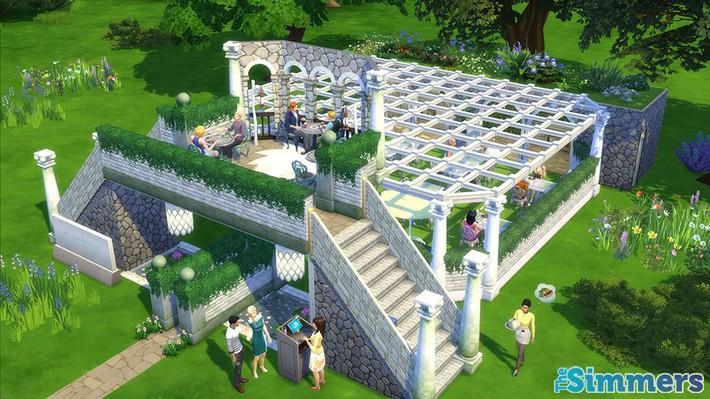 Restaurantes deliciosos feitos pelos jogadores do The Sims 4 (2)