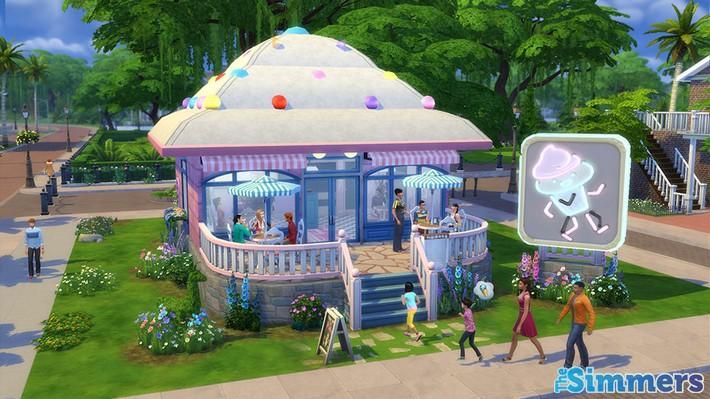 Restaurantes deliciosos feitos pelos jogadores do The Sims 4 (3)
