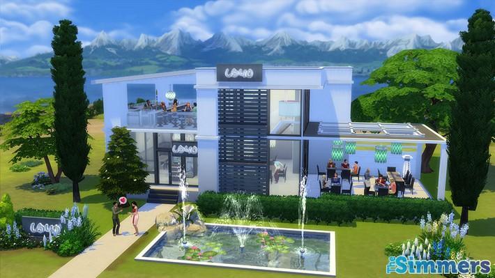 Restaurantes deliciosos feitos pelos jogadores do The Sims 4 (6)