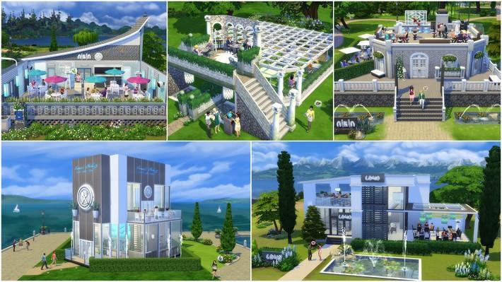 Restaurantes deliciosos feitos pelos jogadores do The Sims 4
