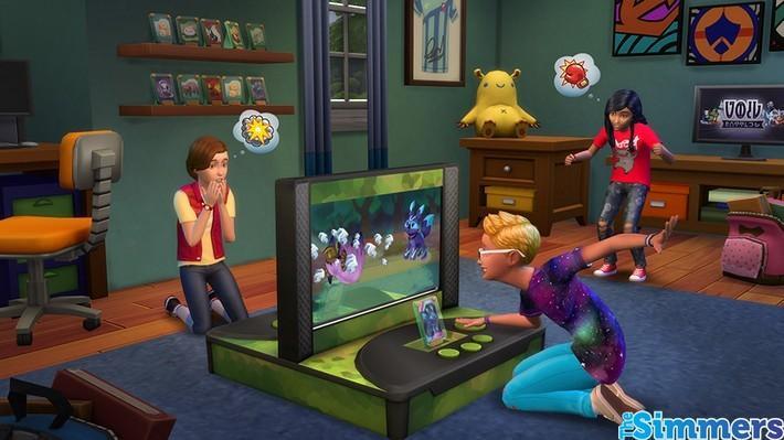 #Notícia: Saiba mais sobre a Estação de Batalha no The Sims 4 Quarto das Crianças 3
