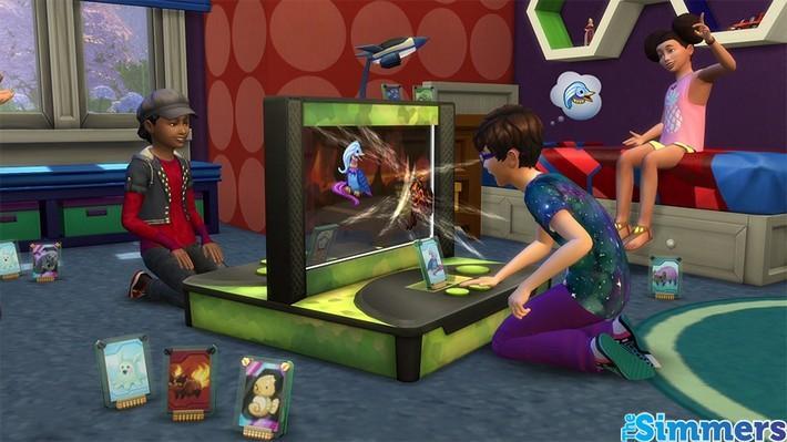 #Notícia: Saiba mais sobre a Estação de Batalha no The Sims 4 Quarto das Crianças 4