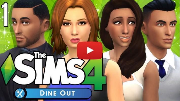 6 séries Vamos Jogar viciantes do The Sims 4 Escapada Gourmet!